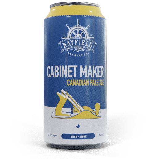 Beer Can: Cabinet Maker - Canadian Pale Ale