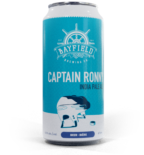 Beer Can: Captain Ronny - IPA