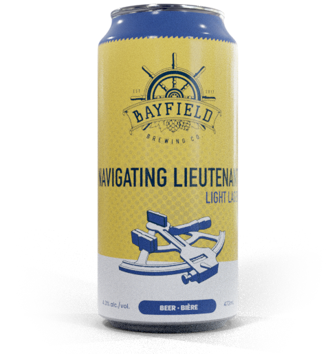 Beer Can: Navigating Lieutenant - Light Lager