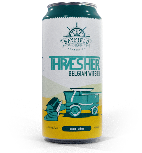 Beer Can: Thresher - Belgian Witbier